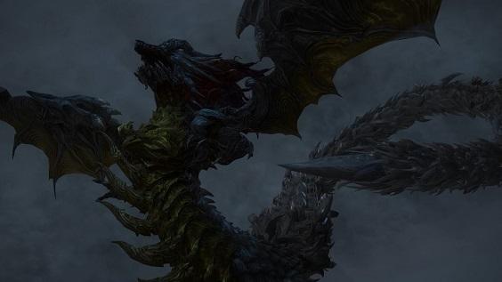 FF14 神竜