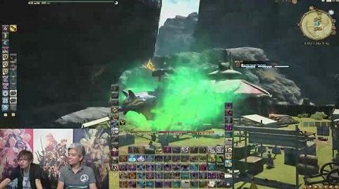 FF14 極神龍 犬 龍のカムイ