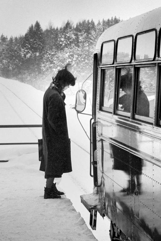南部縦貫鉄道 坪川駅の乗客2 198年2月 日 16bitAdobeRGB原版take1b2