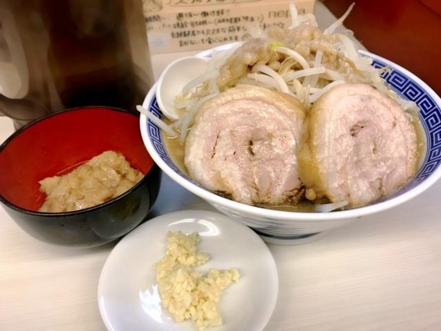 ニンニクらーめん 碧の豚二郎 (10)