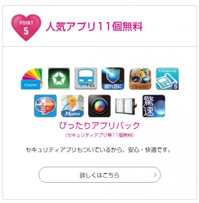UQモバイル ぴったりアプリパック
