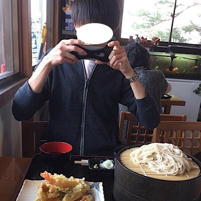 天ぷら蕎麦、美味しそうー!