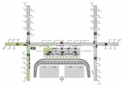 BKK Airport Map 2F