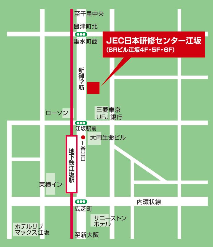 江坂アクセスmap
