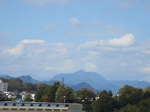 面白い形の山