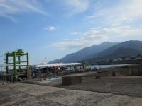屋久島の港