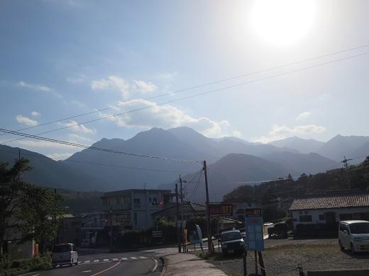 山が見える