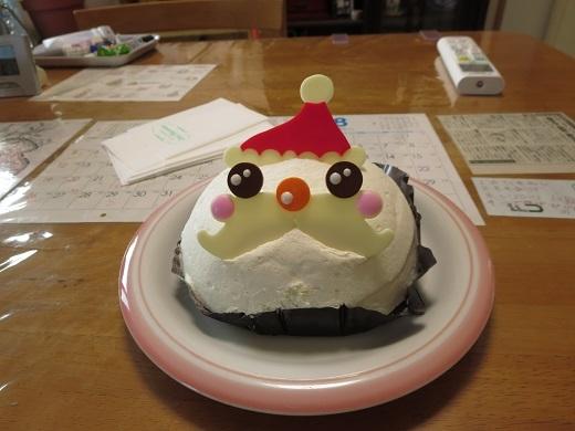見栄を張って買ったケーキ