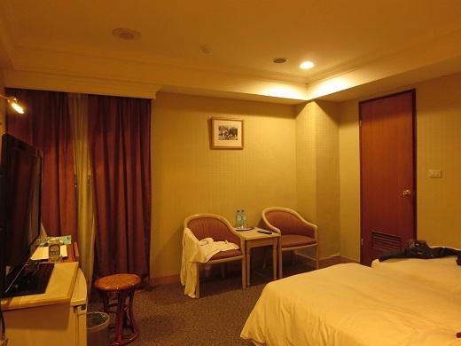 華華大飯店の部屋