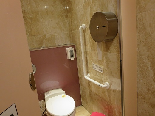 知本駅のトイレは清潔