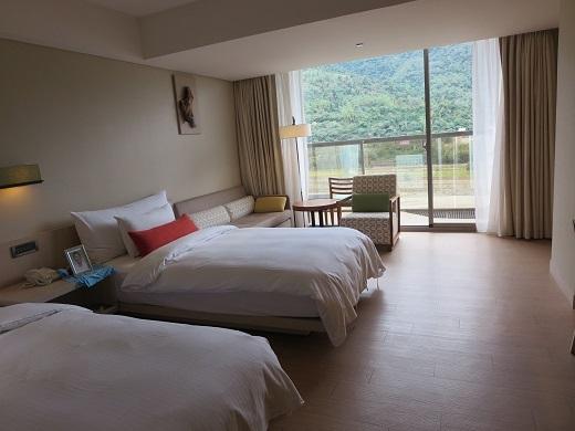 センチュリーホテルの部屋