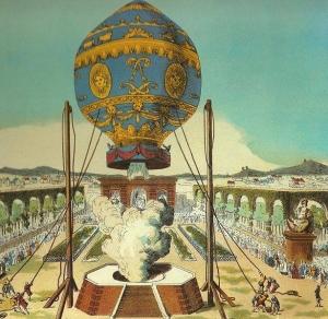 モンゴルフェ兄弟の熱気球