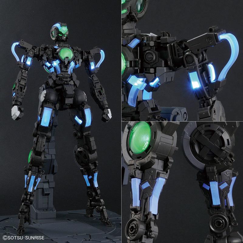 PG 160 ガンダムエクシア (LIGHTING MODEL) プラモデル2017062900133996e05