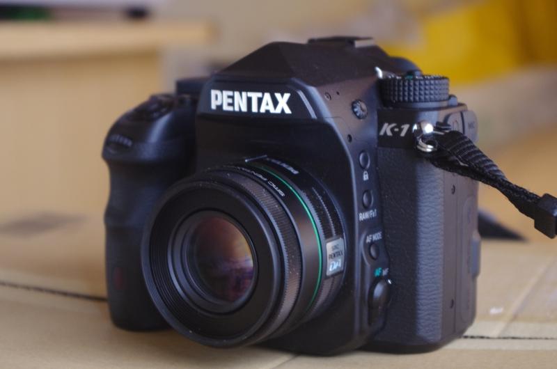 ついに手に入れたPENATX K-1