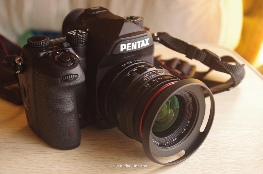 K-1の常用標準レンズとしてHD PENTAX-DA 20-40mm F2.8-4ED Limited DC WRを購入。