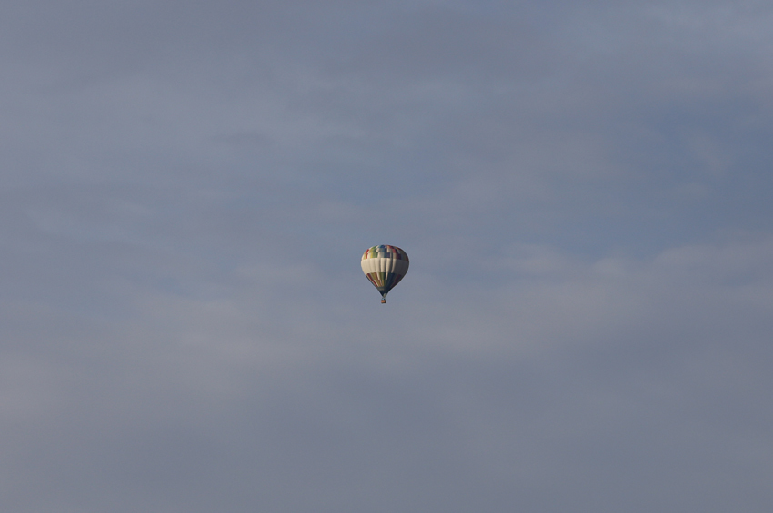 20171016早朝の気球