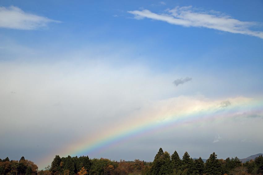 20171111午前中の虹