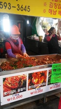 安い市場,韓国
