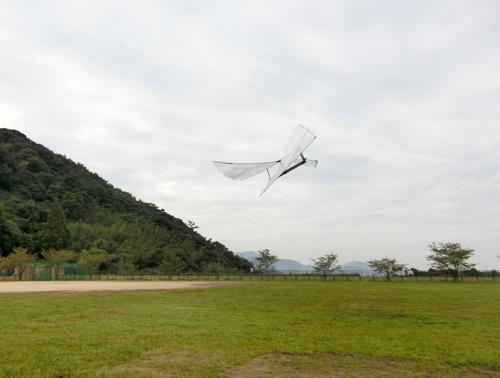 デルタ・ツイスター飛んでるトコ! その1。