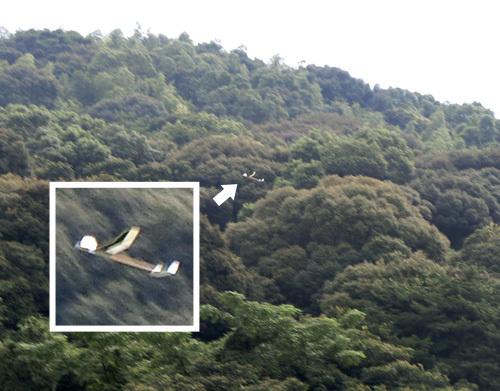kh-1605s、飛んでるトコ! その1。