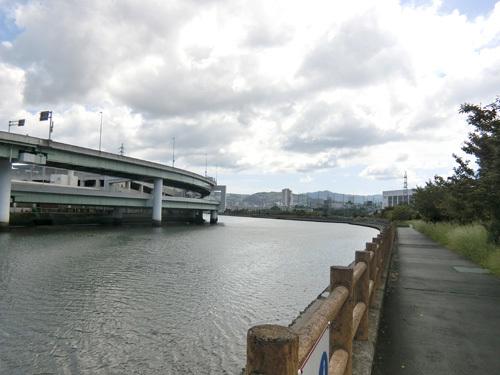 浦上川付近。 その1!
