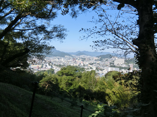 十字架山、反対側からの眺め。