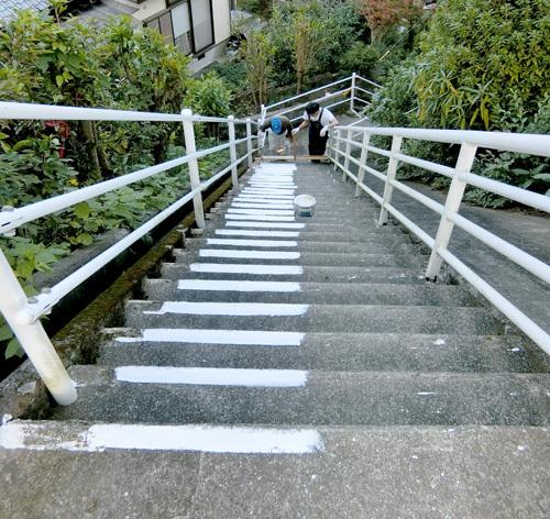 階段のアレ、その1!