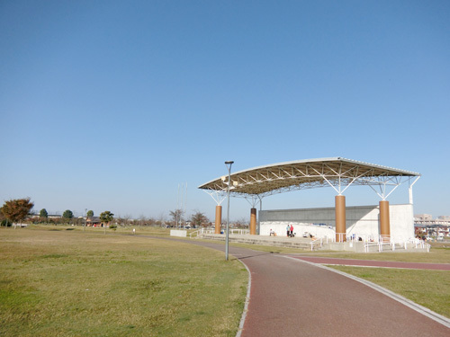筑後川広域公園。