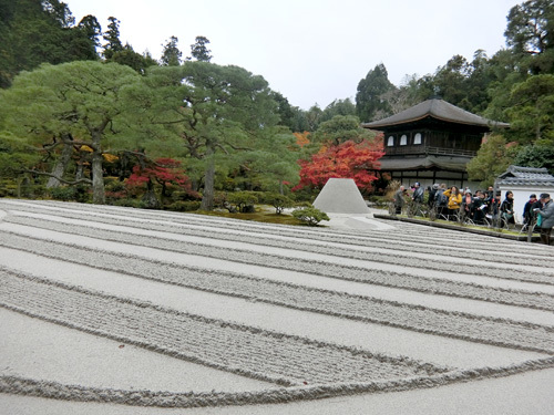 銀閣寺、その2。