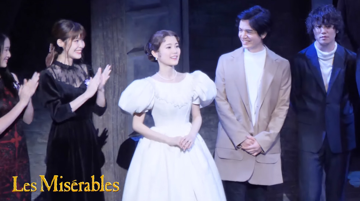『Les Misérables』 10/16(月)大千穐楽特別カーテンコール 生田絵梨花