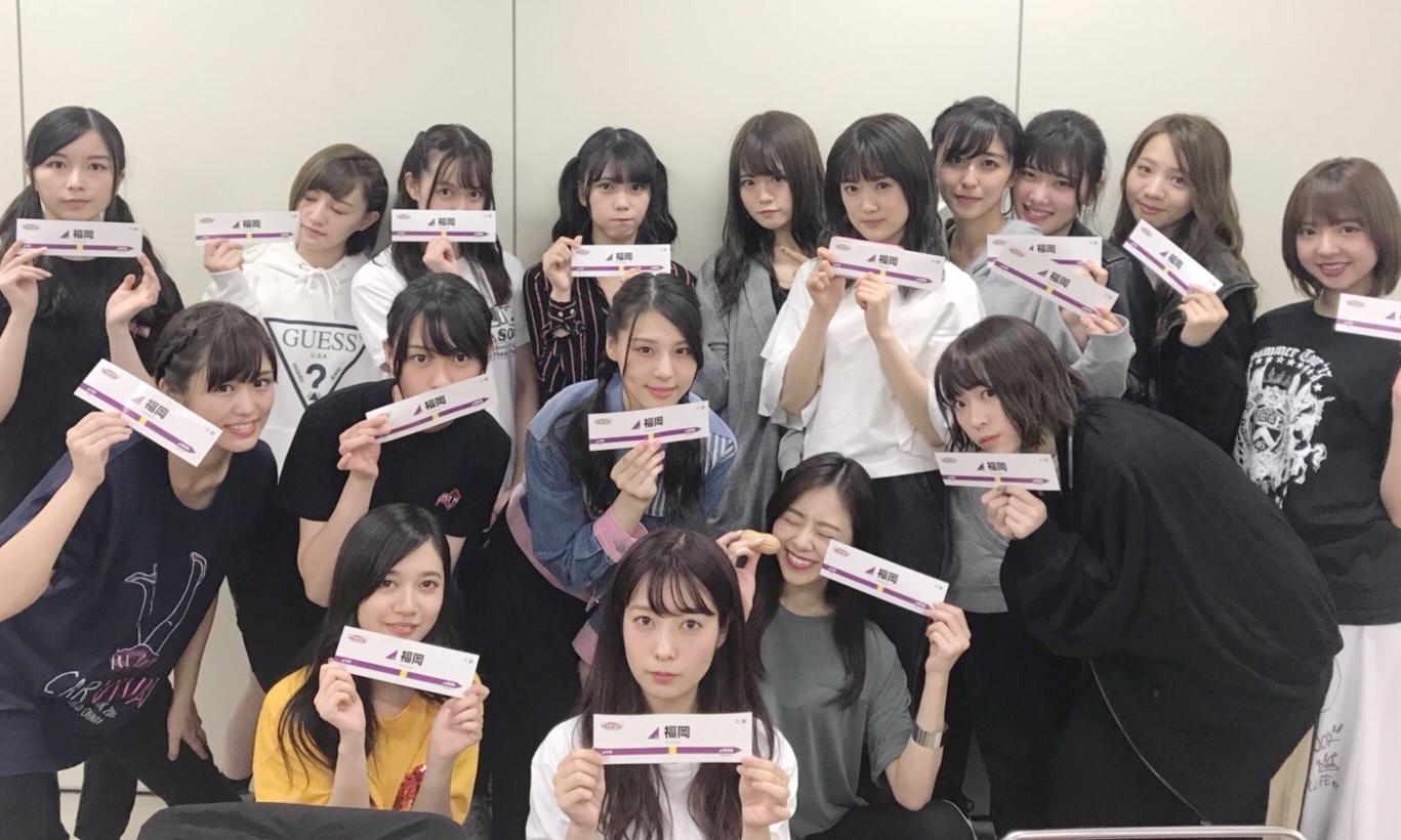 乃木坂46 アンダーライブ2017福岡 集合写真