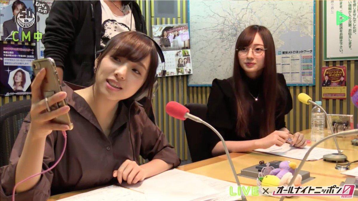 乃木坂46新内眞衣のオールナイトニッポン0 梅澤美波4
