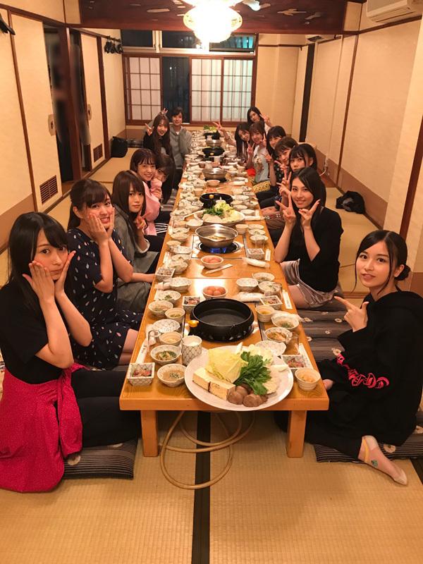 乃木坂46 福岡ご飯会2017の席順