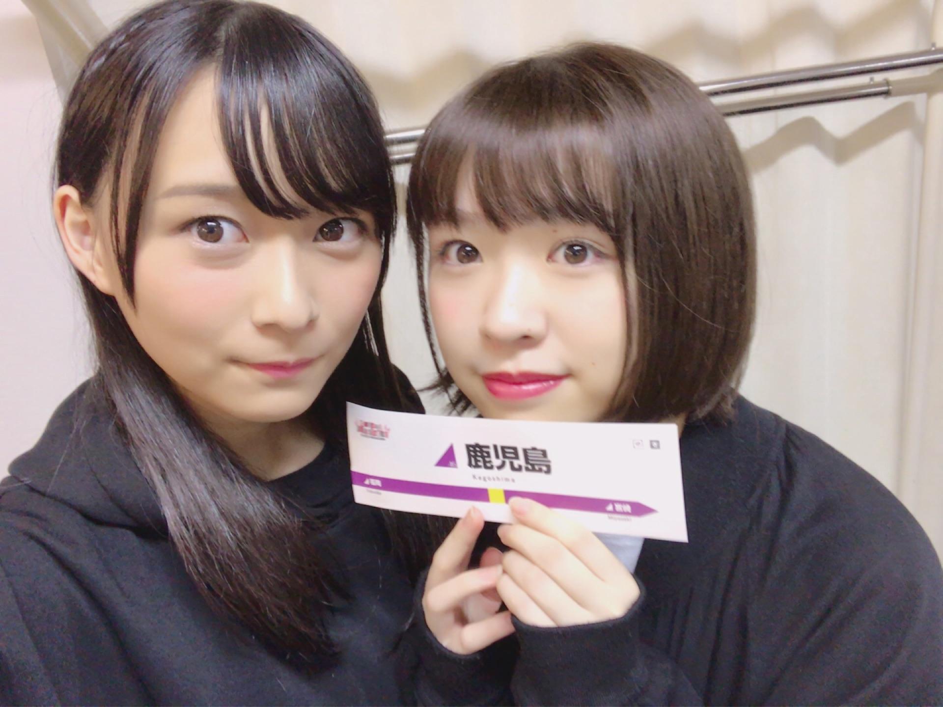 乃木坂46「アンダーライブ全国ツアー2017」鹿児島公演 鈴木絢音 渡辺みり愛