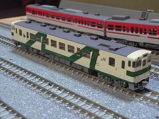 パーツ取付前の「キハ40(1008号タイプ・烏山線(M))」