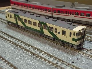パーツ取付後の「キハ40(1008号タイプ・烏山線(M))」