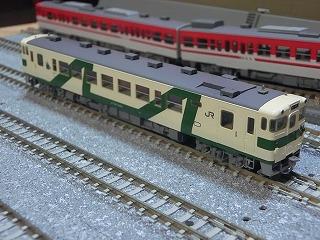 パーツ取付後の「キハ40(1008号タイプ・烏山線(M))」②