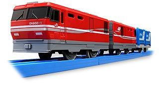 今月発売予定の「S-27 EH800電気機関車」