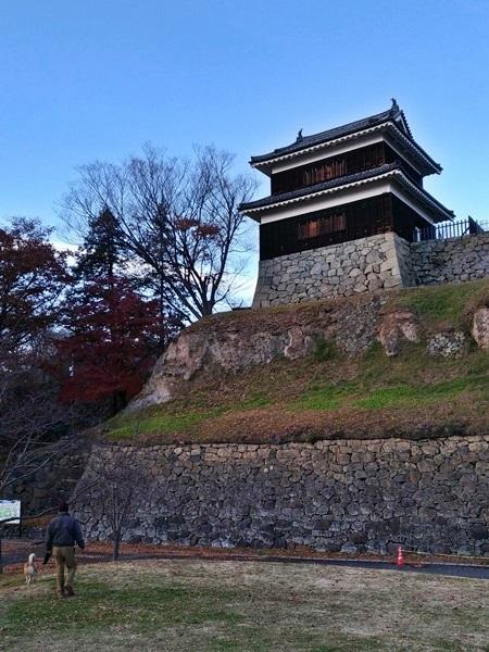 冬枯れの上田城