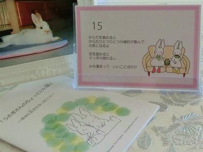 うさぎさんカレンダー2018  3