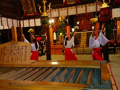 夜の櫛田神社3