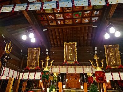 夜の櫛田神社