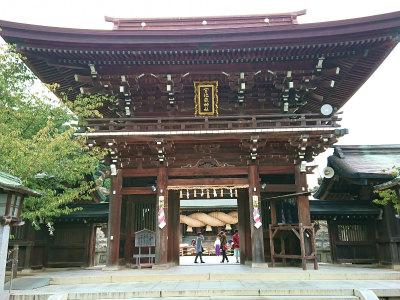 宮地嶽神社光の道 1