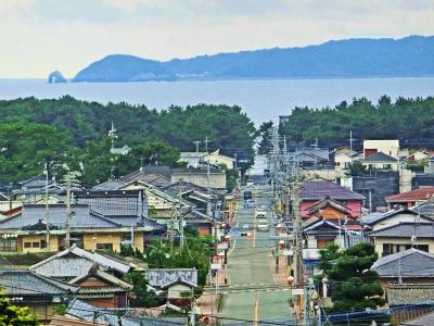 宮地嶽神社光の道2