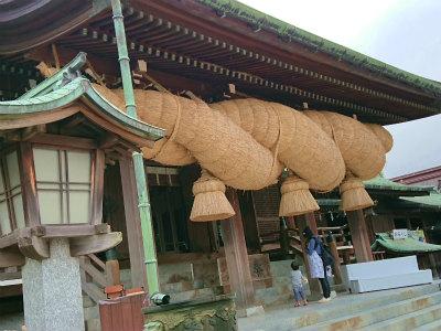 宮地嶽神社光の道3