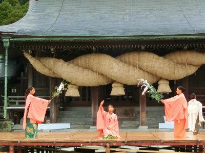 宮地嶽神社光の道7