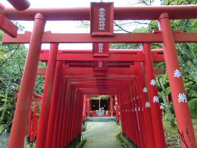 宮地嶽神社光の道10