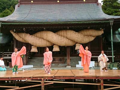 宮地嶽神社光の道6