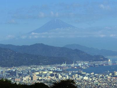 日本平ホテルから富士山