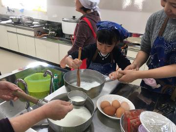 親子料理教室延期で2